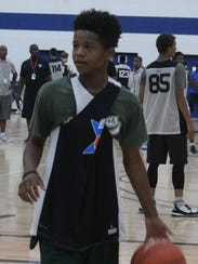 Northville's Wendell Green, a 14-year-old incoming