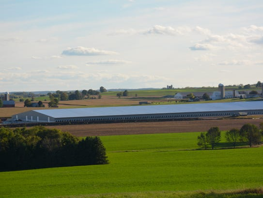 Kinnard Farms is expanding its barns in the valley