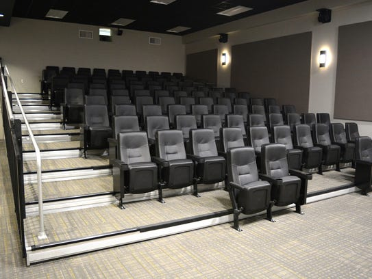 A look at the new 108-seat theater at the Rehoboth