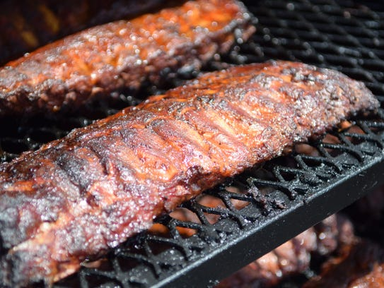 Ribs are smoked low and slow at Savannah's Deli and