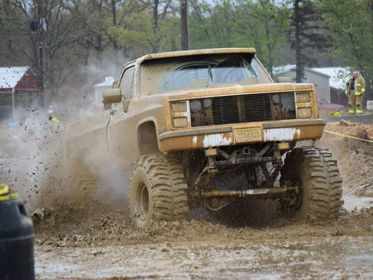 A Mud Bog and Truck Pull will be held at the Cumberland