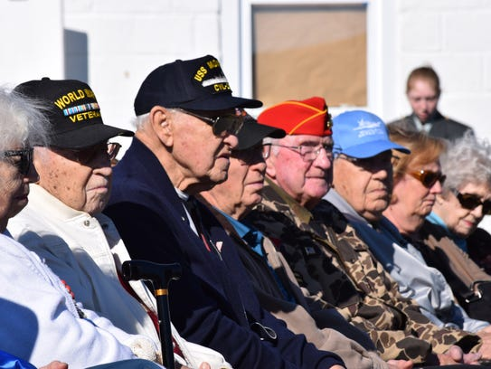 The 15th annual Veterans Appreciation Day at the Millville