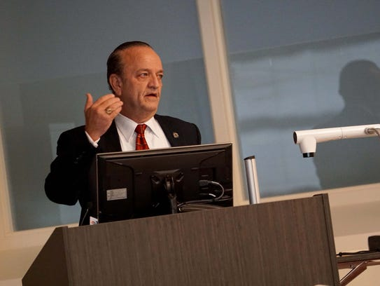 New County Executive Tom Gordon talks about the new