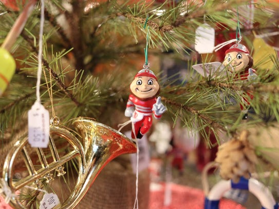 Brutus Buckeye ornaments have been one of the most