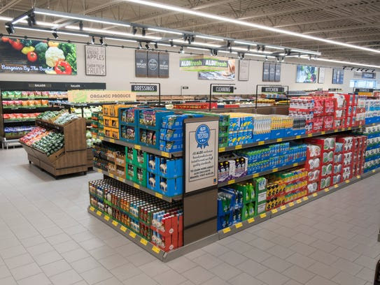 An example of an Aldi store.