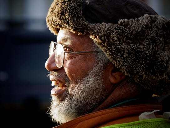 Earl Tate, 66, wakes up before the sunrise every morning