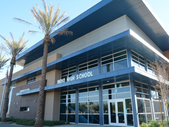 Indio High School is among the sites where free lunch