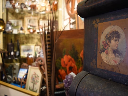 More than 50 vendors offer antiques, consignment items