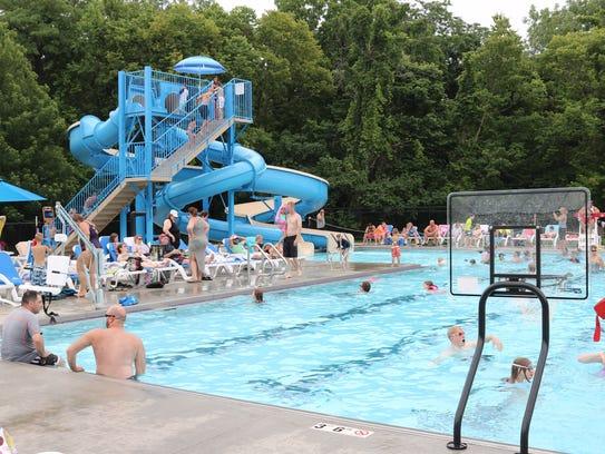 Lakeside Chautauqua's new 6,000-square-foot pool, part
