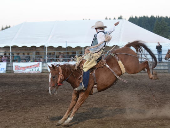 There will be plenty of bronc bucking at the Santiam
