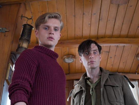 Tom Glynn-Carney (left) and Cillian Murphy star in