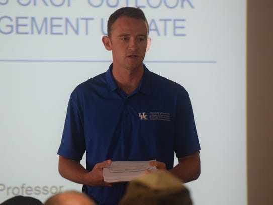 Brad Hagan, UK extension agent for agriculture, welcomes