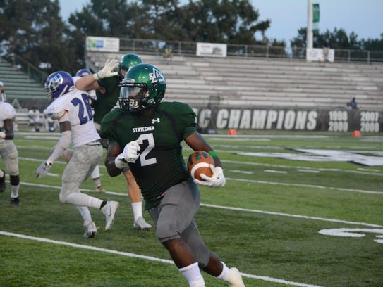 Delta State running back Chris Robinson is a huge part