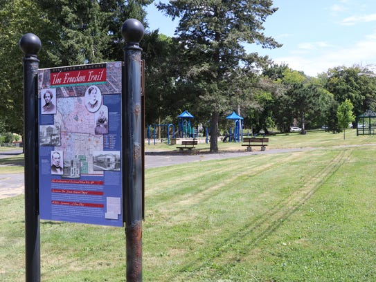 This park in Syracuse is named for abolitionist  Jermain