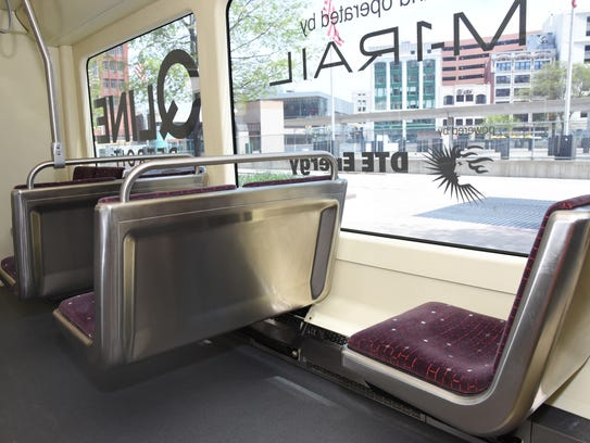 QLine cars are clean, comfortable and climate-controlled.
