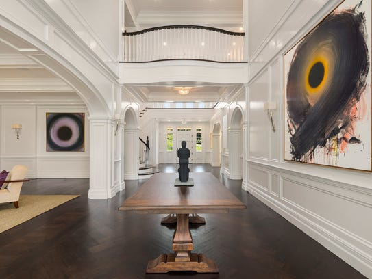 The gallery at a custom crafted home at 6 Carriage