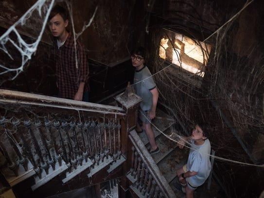 Jaeden Lieberher (from left), Finn Wolfhard and Jack