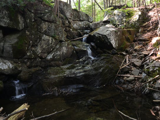 The waterfall at Michael Ciaiola Conservation Area