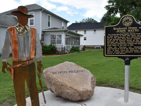 The Boyhood Home of John Wayne Historic Site has become
