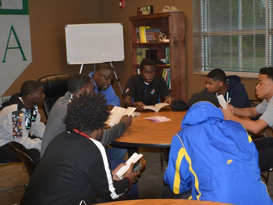 Bible study is one of the ways the Juvenile Intervention
