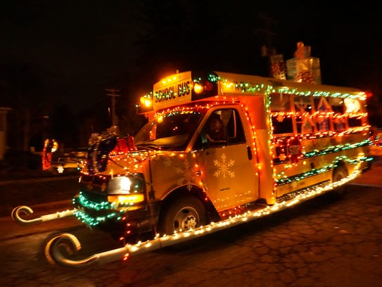 Northville's Holiday Lighted Parade begins at 6:30