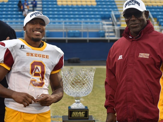 Tuskegee tailback Hoderick Lowe was the SIAC Championship