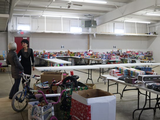 "The local Salvation Army's ""Toys for Tots"" toy drive kicks off this week, beginning Thursday."