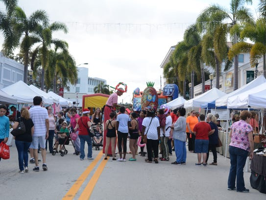 The festival begins at 1 p.m., and the enlarged kid's