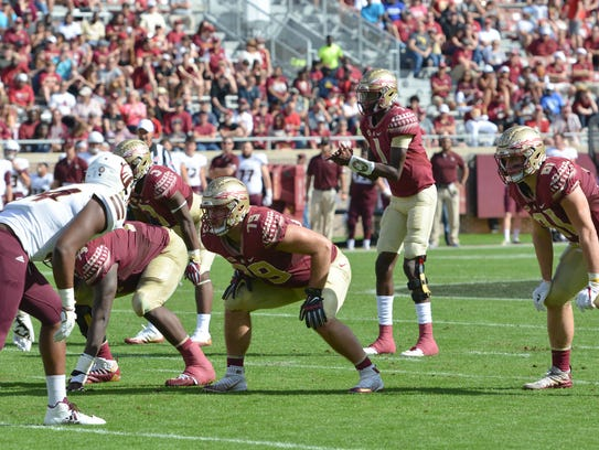 FSU freshman quarterback James Blackman prepares for