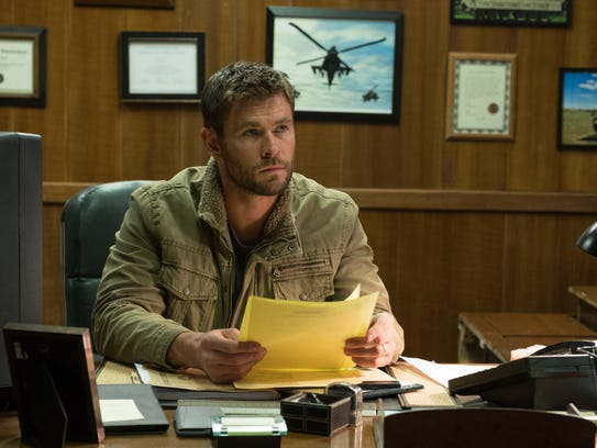 """Chris Hemsworth plays Mitch Nelson in """"12 Strong."""""""