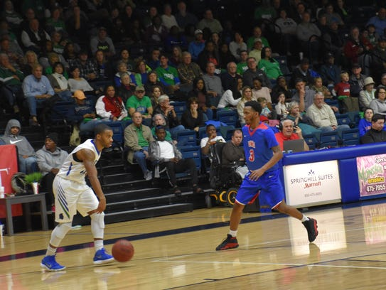 UWF had one of its bigger crowds Friday night for game