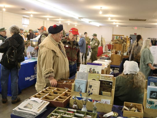 The Living History Trade Fair featured some of the