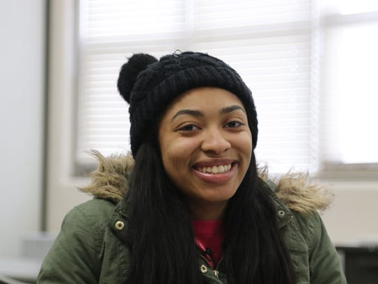 Shorewood High School senior Nadia Conner, 18, from