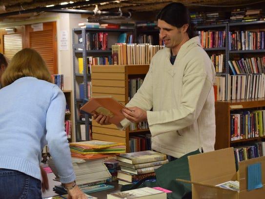 Daniel Farinaro purchased several books from the Friends