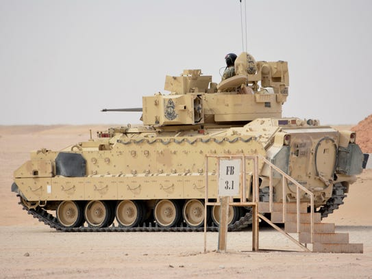 2nd Brigade soldiers showed off their expertise during