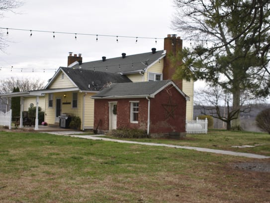 The Leeland Homestead, located in Ashland City on land