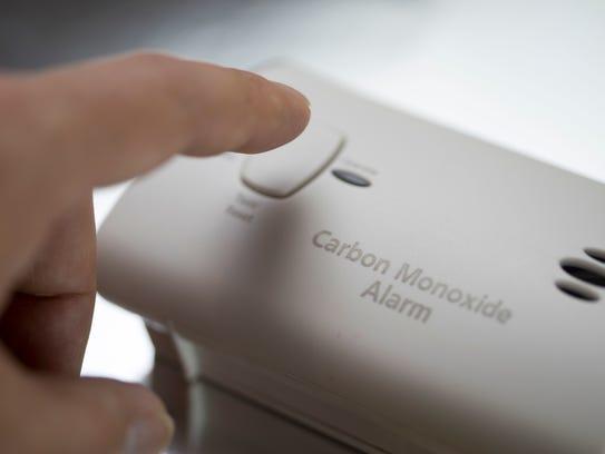 Photo of a carbon monoxide alarm