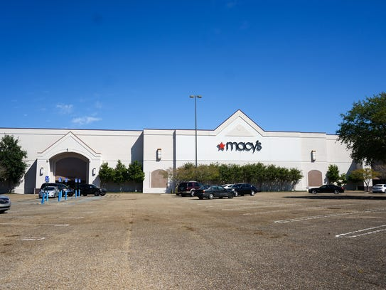 The outside of the Macy's at the Acadiana Mall is seen