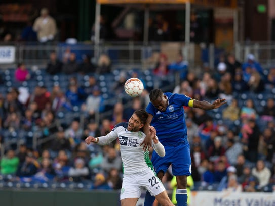 Reno 1868 FC beat  OKC Energy FC 2-0, on Saturday,