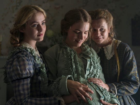 Kathryn Newton as Amy, Willa Fitzgerald as Meg and