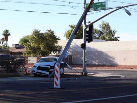 Several customers in Peoria lost power following a