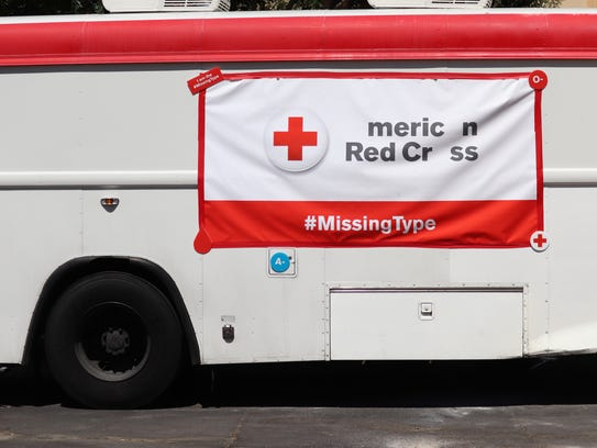 """The American Red Cross has removed the letters """"A,"""""""