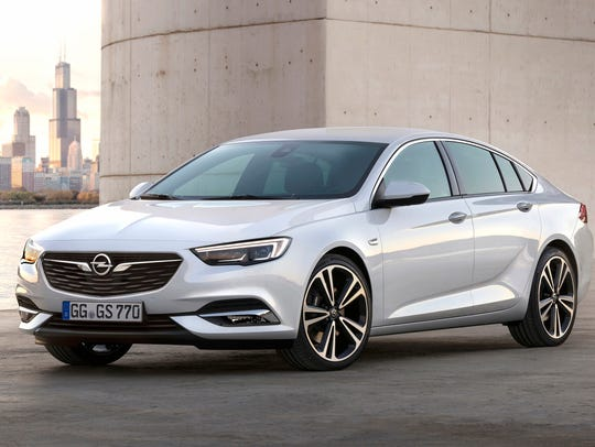 The Opel Insignia Grand Sport was revealed at the Geneva