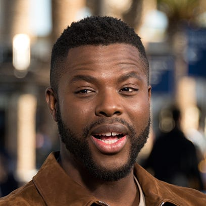 Black Panther co-star Winston Duke gives a 'shout out' to his Brighton High School foreign language teacher