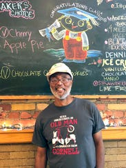 Gregory Tate at Moosewood Restaurant in Ithaca. Tate,
