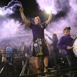 Louisville City FC fans go nuts after Matt Fondy scores one of his two goals in extra time Saturday to move the team into the USL semifinals.