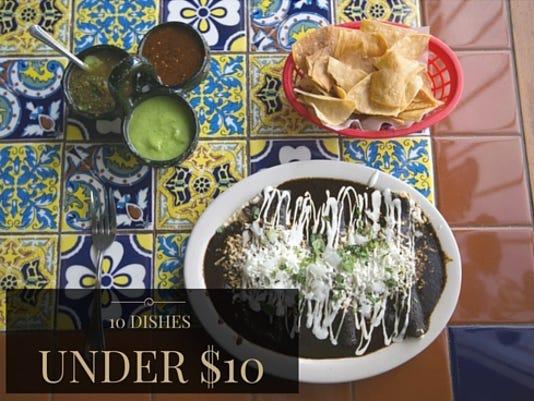 10 dishes under $10