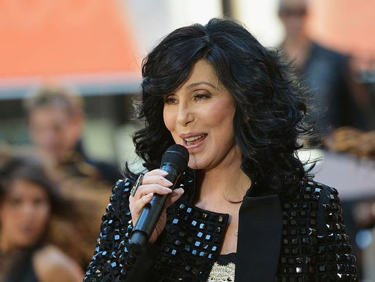 """Singer Cher peforms on NBC's """"Today"""" at NBC's TODAY"""