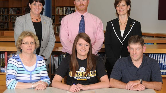 West York Official Signing-Katelyn Ort-Millersville University Girls Volleyball