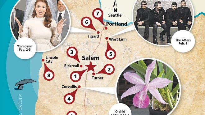 Willing to head out of Salem? Lots for foodies, theater lovers and gardeners.